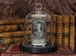 Louis XV-cloche+livres