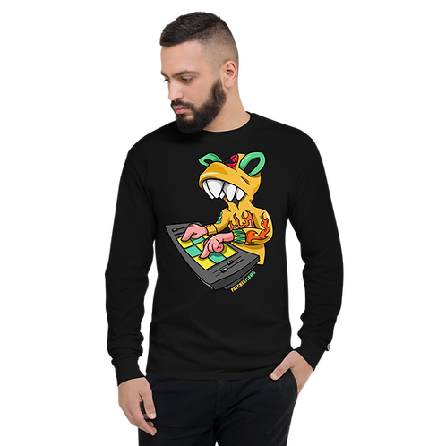 PATCHESFLOWS Champion Long Sleeve Tee