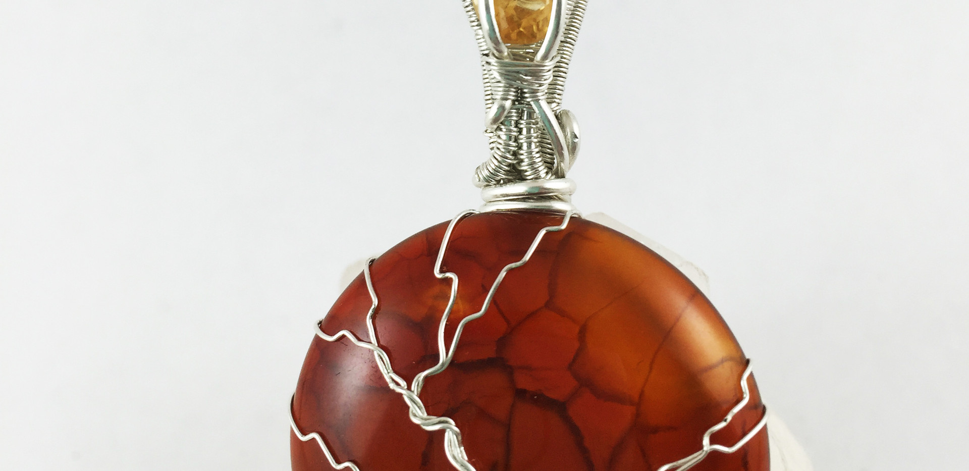 Carnelian and Citrine Tree of Life