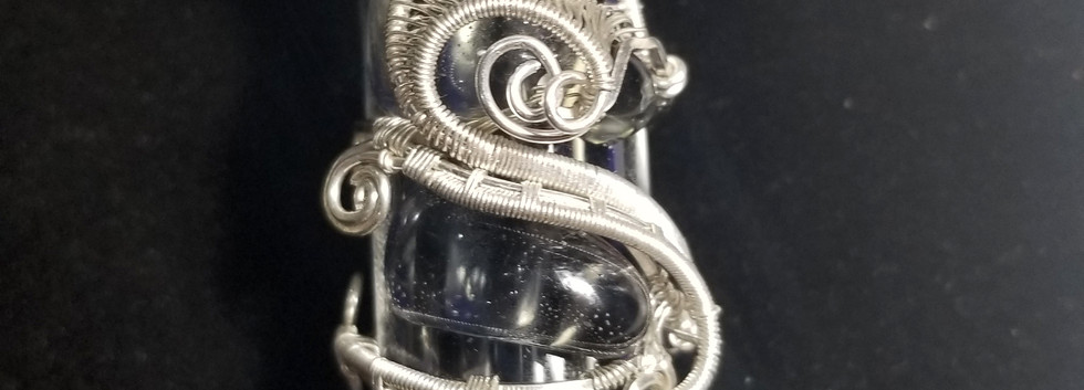 My 3rd ever wirewrapped Pipe