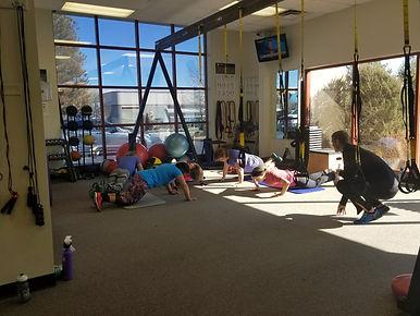 Personal trainer Reno, TRX class
