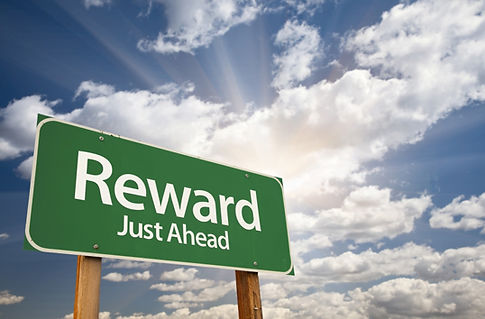 Rewards Ahead Sign, Reward signal