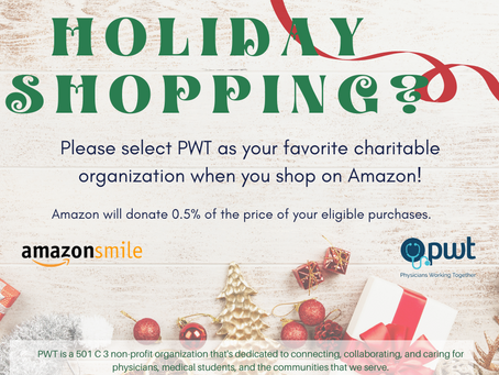 Select Physicians Working Together As Your Favorite Charity While Holiday Shopping On Amazon Smile