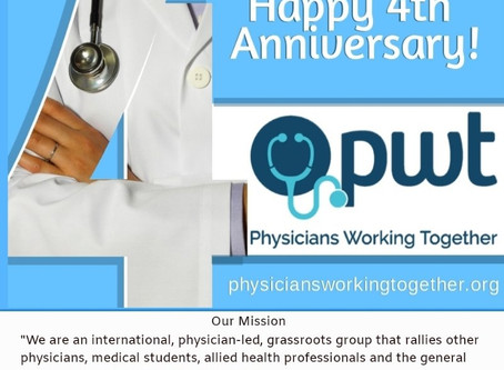Physicians Working Together Celebrates Turning 4!