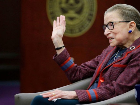 The Notorious RBG and Healthcare