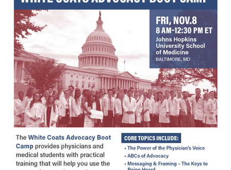 Doctors For America Will Hold Its 2019 National Leadership Conference At John's Hopkins