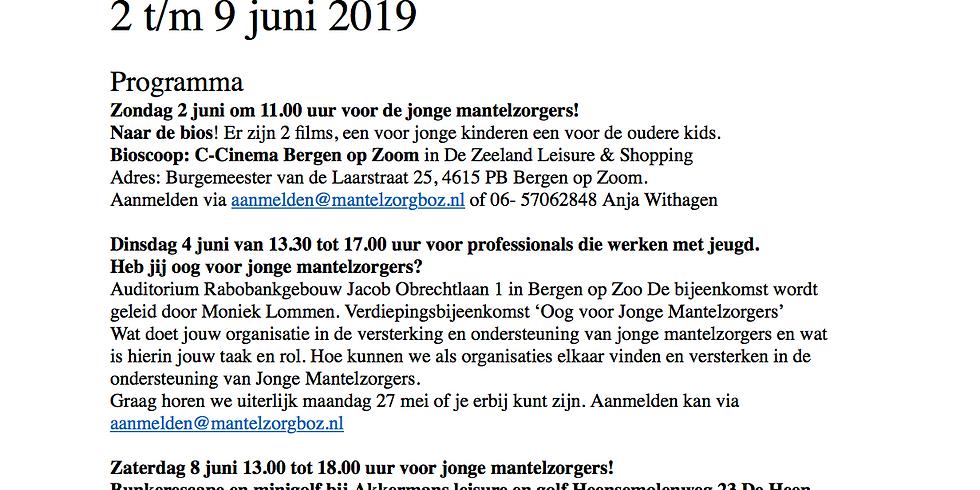 Escaperoom en minigolf Jonge Mantelzorgers - Brabantse Wal gemeenten