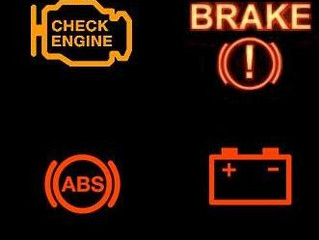 Understanding the 4 most common warning lights on your dash