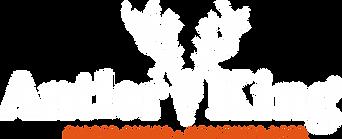 AntlerKing_Logo_NonPkging_ White-OrangeT