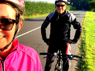 Head cycles 300 miles