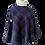 Thumbnail: Purple Check Harris Tweed Shawl