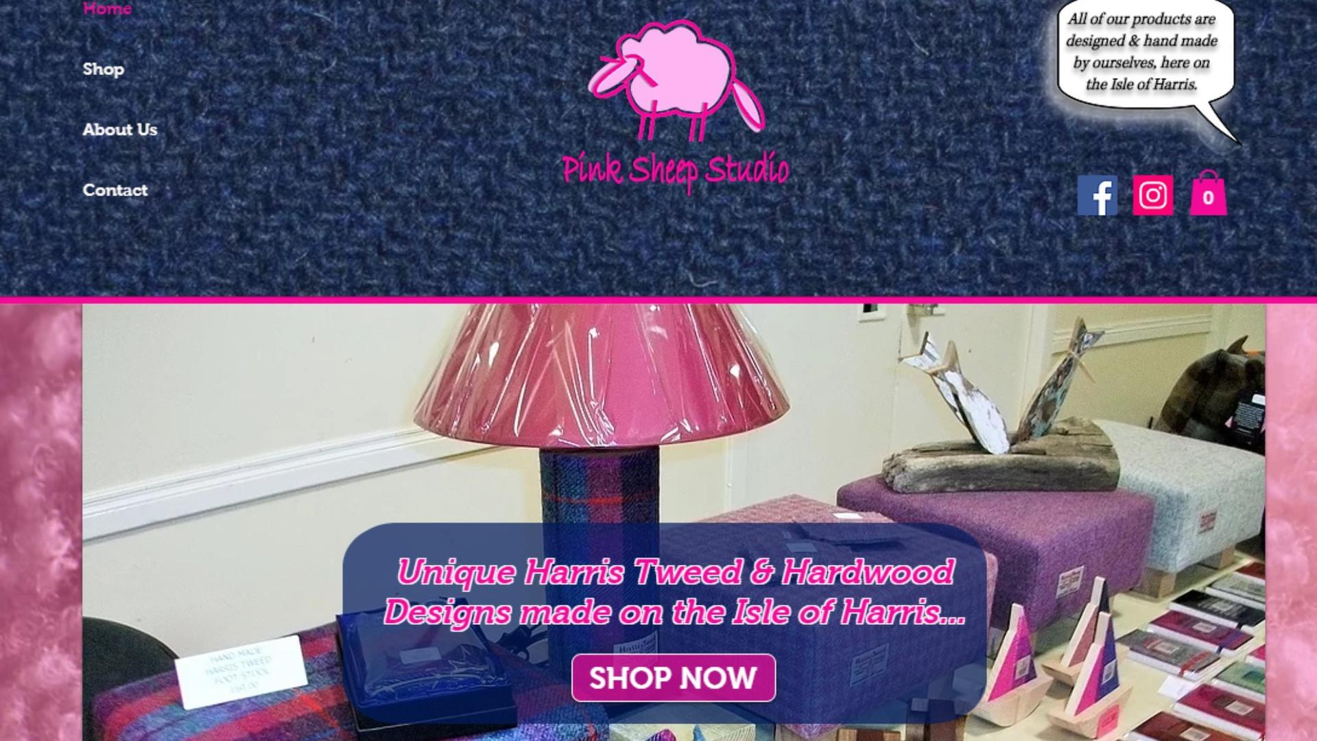 Pink Sheep Studio - Website