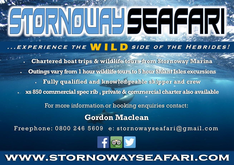 Stornoway Seafari - Business Card
