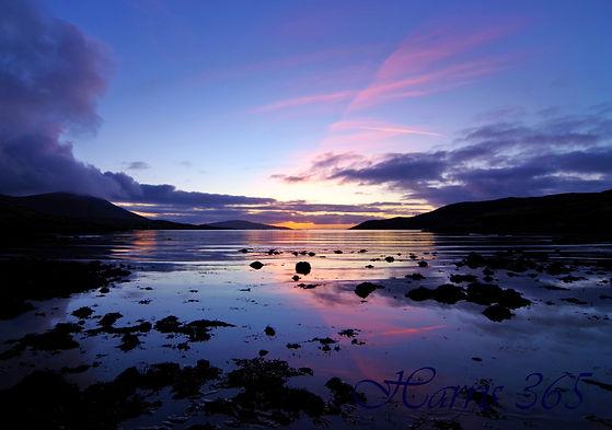 Dusk, Loch Bun Abhainn Eadarra.JPG