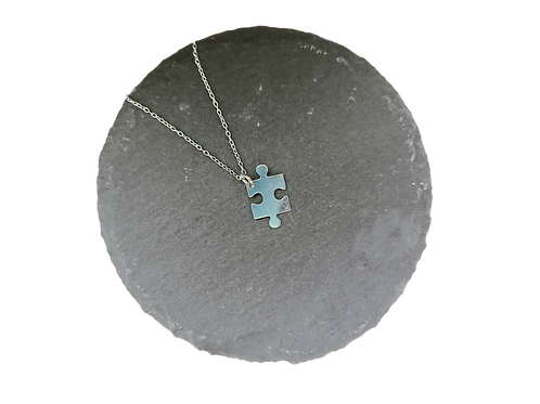 Jigsaw Piece Necklace