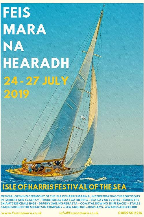 Feis Mara na Hearadh 2019 Posters