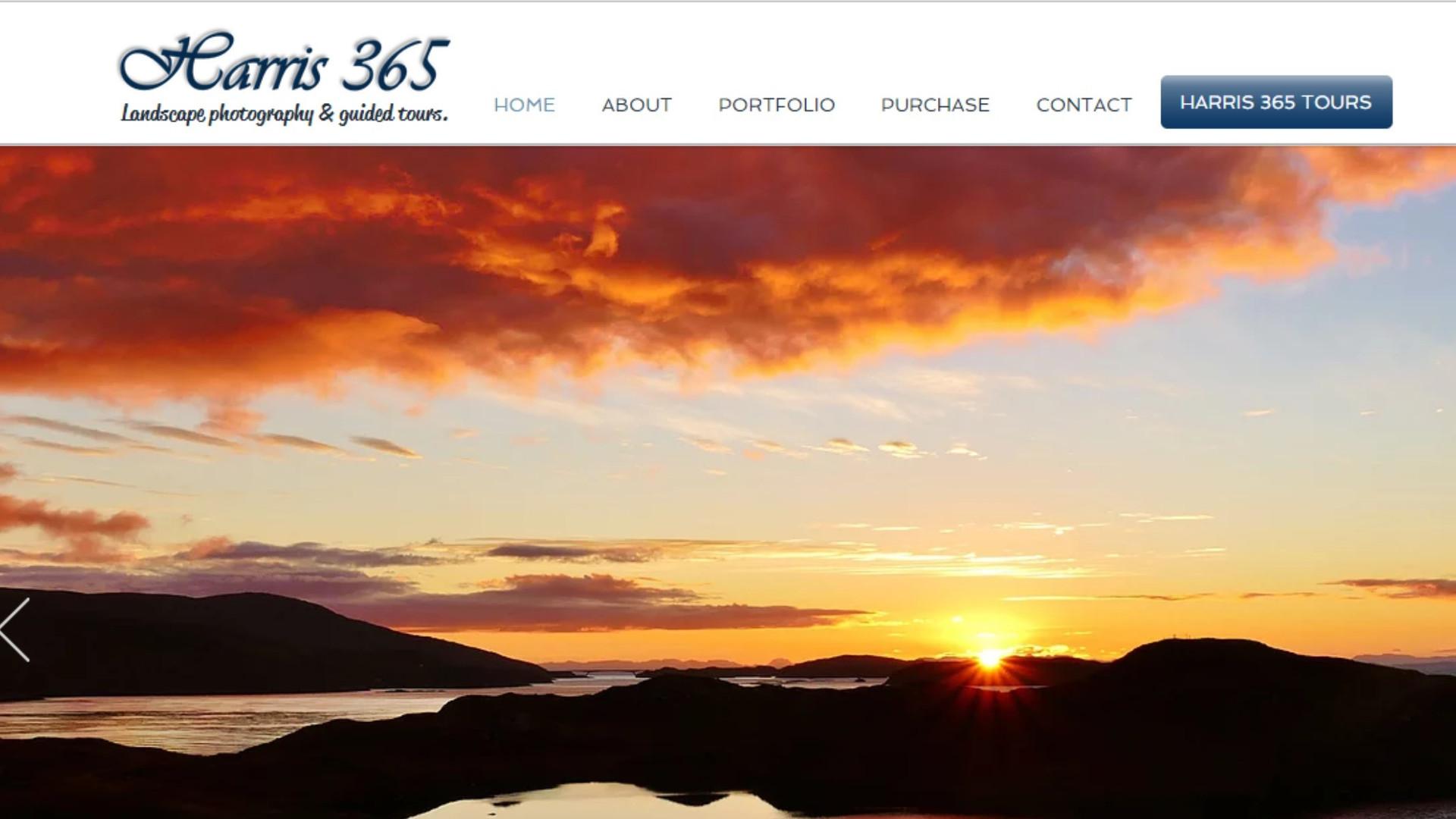 Harris 365 - Website