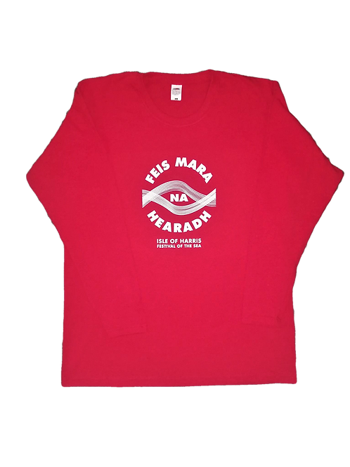 Red Long Sleeve FNM T-shirt