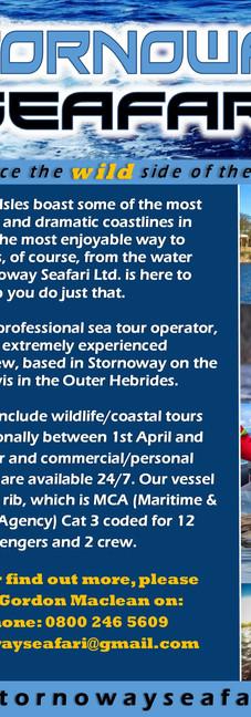 Stornoway Seafari - Flyer