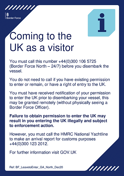 coming to the UK as a visitor Poster (1)