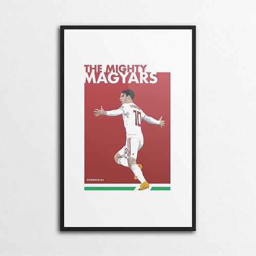 MIGHTY MAGYARS Print