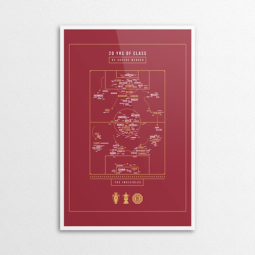 20 YRS of CLASS by ARSÉNE WENGER
