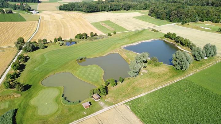 Golf Vuissens Parcours Vue aérienne