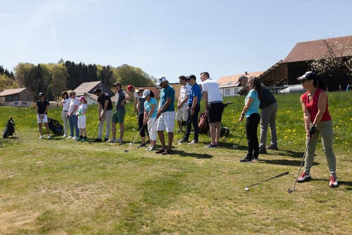 Golf Vuissens Portes ouvertes Practice