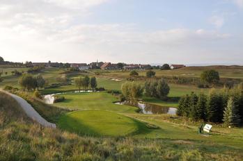 Golf Vuissens Parcours Trou 2