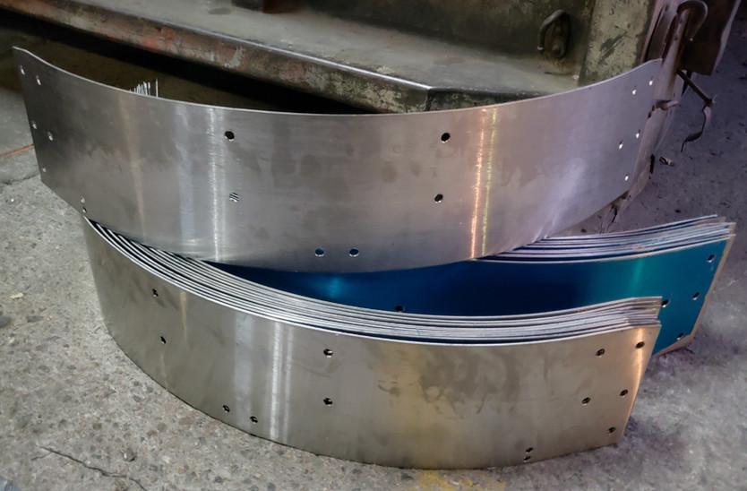 Rolado de lámina de acero inoxidable