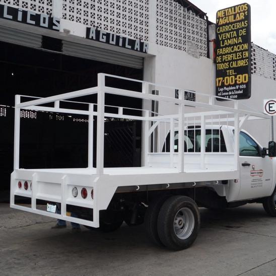 Plataforma para vehículos de carga