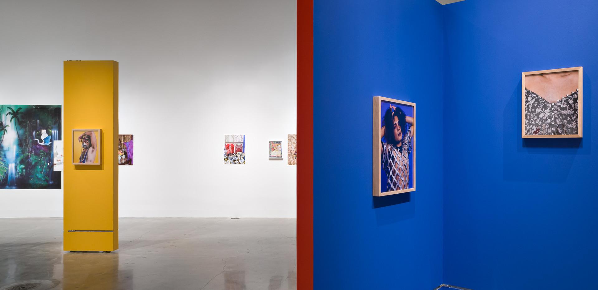 Conversation 7 - Entre Nos documentation at San Francisco Arts Commission Galleries. Photos by Phillip Maisel
