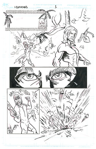 The Liberators Page One