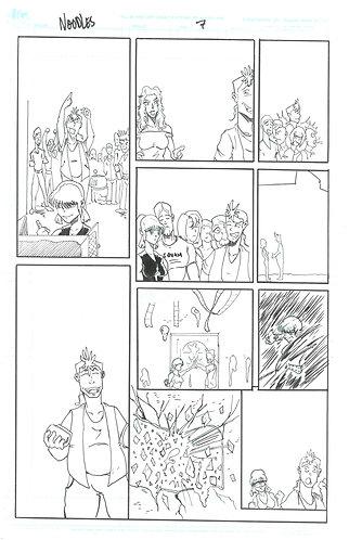 Noodles Page 7 Original Art