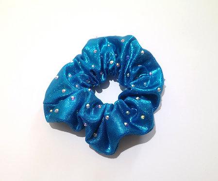 Scrunchie Aqua