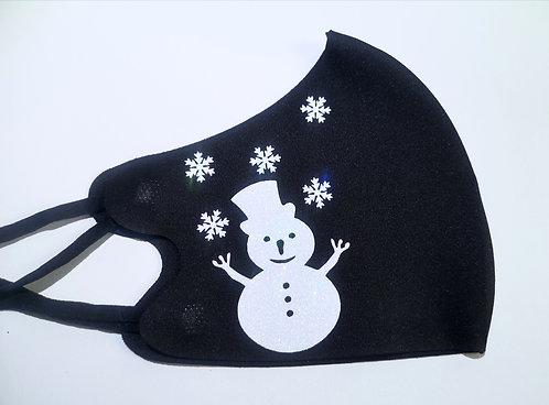 X-Mas Maske Snowman
