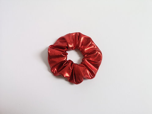 Scrunchie metallic rot