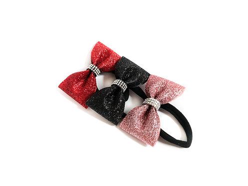Minibow (mit Haarspange, Gummi o. Anhänger)