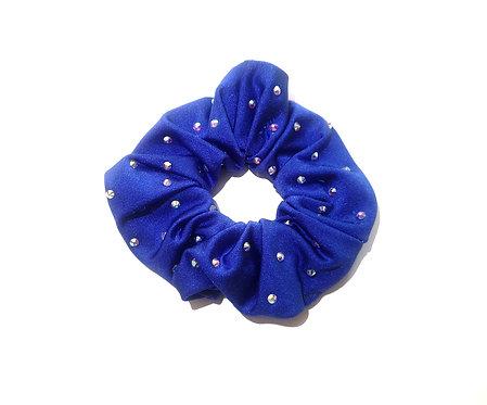 Scrunchie royal blau
