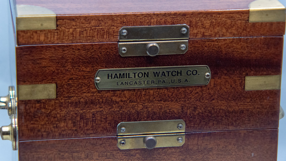 Hamilton 21 Mounted Marine Chronometer