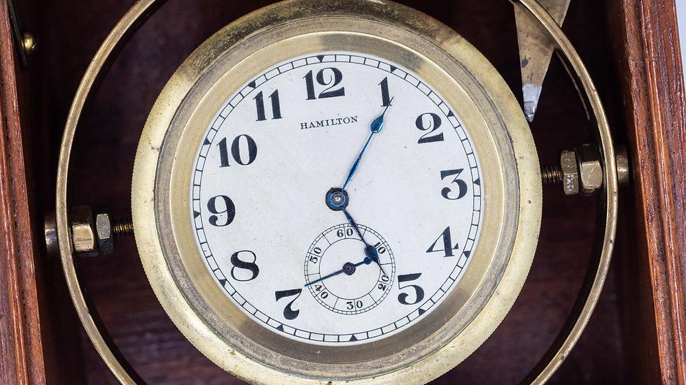 Hamilton Mounted Chronometer c. 1914
