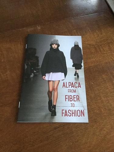 Alpaca from Fiber to Fashion
