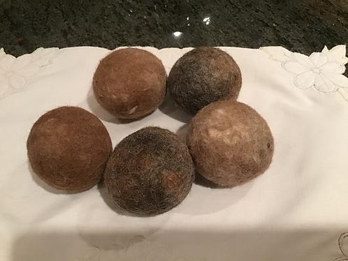 Alpaca dryer balls