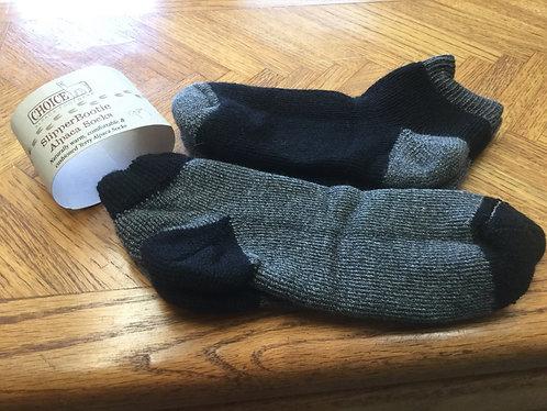 Crew sock/ bootie slipper