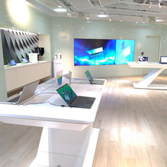 Acer product showroom