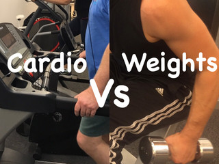Cardio vs Weights