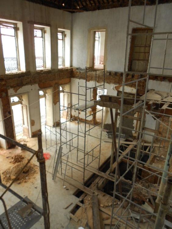 Reforma e restauração- 3º andar