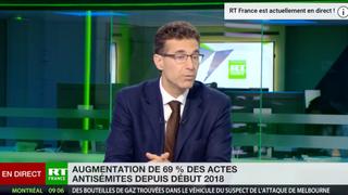 Hausse de l'antisémitisme en France - Réaction d'Alexandre del Valle