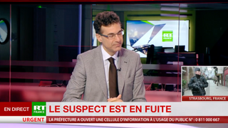Réaction d'Alexandre del Valle à l'attentat de Strasbourg - RT France