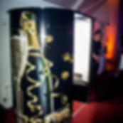 champagne booth